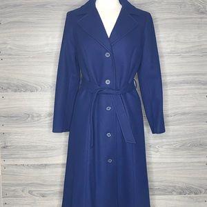Pendleton Vintage 100% Wool Trench Coat with Belt